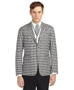 Brooks Brothers - GINGHAM UNCONSTRUCTED JACKET