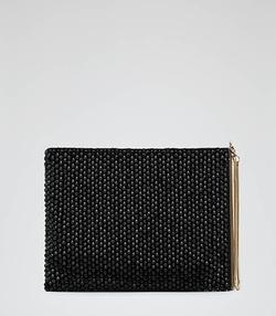Cindy - Beaded Clutch Bag