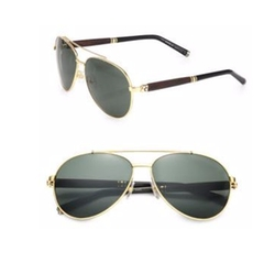 Montblanc - Metal Aviator Sunglasses