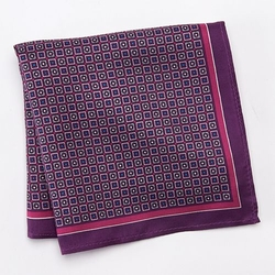 Calabrum - Patterned Pocket Square