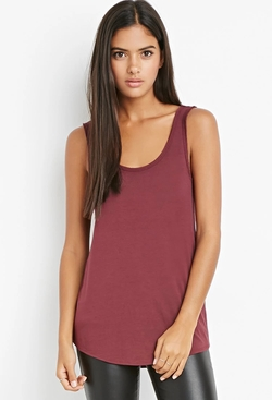 Forever 21 - Raw-Cut Boxy Tank Top