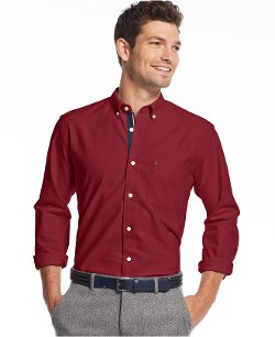 Tommy Hilfiger - Cambridge Oxford Custom-Fit Shirt
