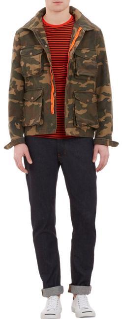 Ami Alexandre Mattiussi - Camo-Print Field Jacket