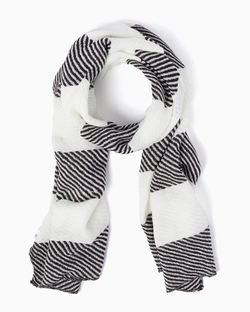 Charming Charlie - Striped Herringbone Scarf