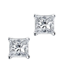 iJewelry 2 - Square Basket Stud Earrings