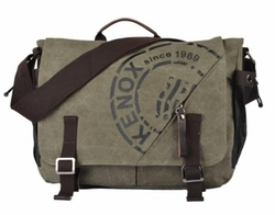 Kenox - Canvas Crossbody Messenger Bag
