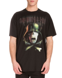 Givenchy - Army Skull Logo-Print T-Shirt