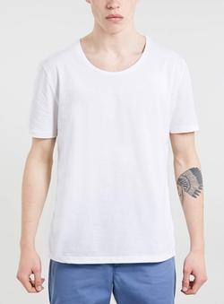 Topman - Classic Scoop Neck T-Shirt