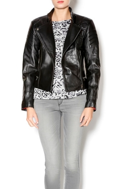 West Coast Leather - Padded Moto Jacket