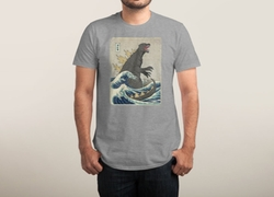 Threadless - The Great Monster Off Kanagawa Shirt