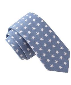 Skinny Tie Madness - Star Gazer Print Tie