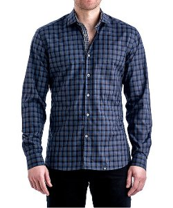 Stone Rose - Melange Check Sport Shirt