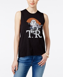 True Religion  - Graphic Muscle Tank Top