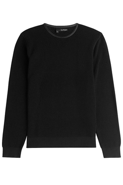 The Kooples - Ribbed Cotton Thermal Sweater