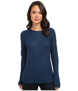 Jones New York - Long Sleeve Pullover Sweater w/ Raglan Sleeves