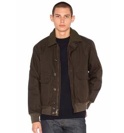 Filson  - Ranger Oil Cloth Bomber Jacket