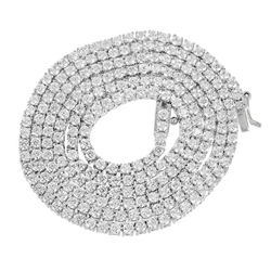 Master of Bling - Tennis Link Chain Solitaire Necklace
