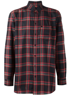 Givenchy - Oversized Plaid Shirt