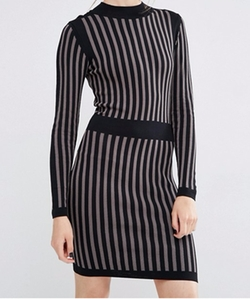 Y.A.S - Billi Long Sleeve Knit Dress