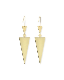Lana - Triangle Spike Earrings
