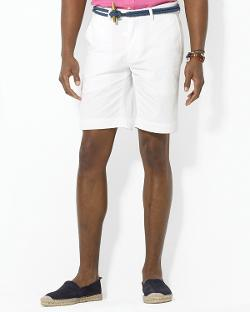"Polo Ralph Lauren  - Flat Front 9"" Chino Short"