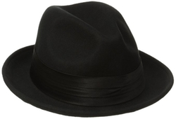 Stacy Adams - Wool Felt Snap Brim Fedora Hat
