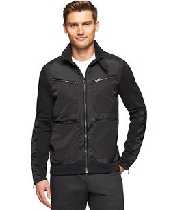 Calvin Klein - Premium Full-Zip Slim-Fit Jacket