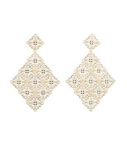 Charlotte Russe - Filigree Statement Earrings