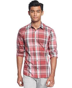 Hugo Ero  - Plaid Slim-fit Shirt