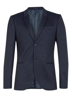 Topman - Skinny Fit Jersey Blazer