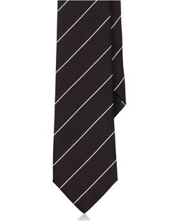 Ralph Lauren - Striped Peau De Soie Tie