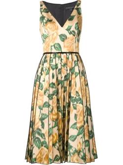 Marc Jacobs - Floral Print Dress