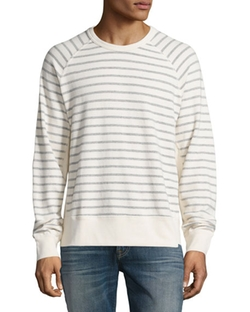 7 For All Mankind - Striped Long-Sleeve T-Shirt