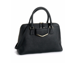 Calvin Klein  - Saffiano Leather Satchel Bag