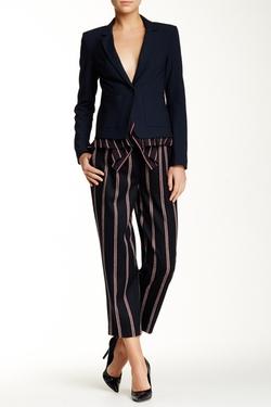 Elizabeth and James  - Tilden Striped Wool Blend Pants