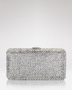 Sondra Roberts Clutch - Rhinestone Box