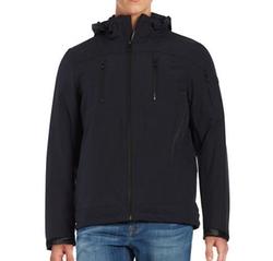 Calvin Klein - Faux Fur-Trimmed Zip-Front Coat