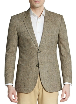 English Laundry - Regular-Fit Tweed Silk Sportcoat
