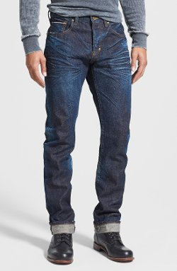 PRPS  - Demon Slim Straight Leg Selvedge Jeans