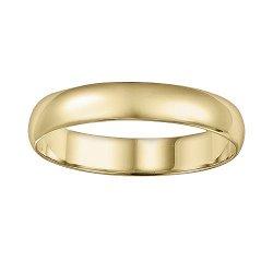 Cherish Always  - Men 10k Gold Wedding Band