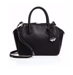 Rebecca Minkoff  - Mini Perry Leather Satchel Bag
