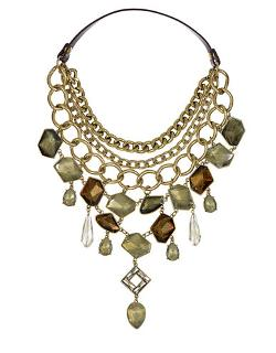 Sam Edelman - Multi-Chain & Gemstone Bib Necklace