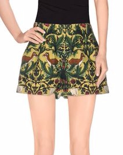 Silken Favours - Multicolor Pattern Shorts
