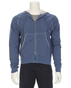 V::Room - Jacquard Fleece Zip Hoodie
