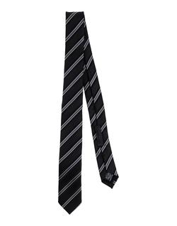 Les Hommes - Striped Silk Tie