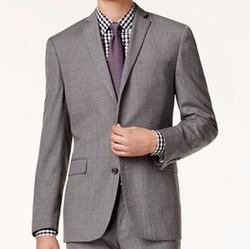Bar Iii - Glen Plaid Slim-Fit Jacket