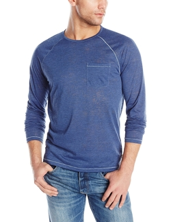 John Varvatos - Raglan Crew-Neck Long-Sleeve T-Shirt