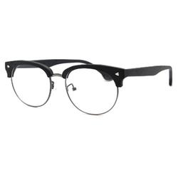 TIJN  - Woodgrain Clubmaster Eyeglasses
