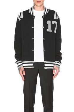 Givenchy  - 17 Varsity Wool Knit Jacket