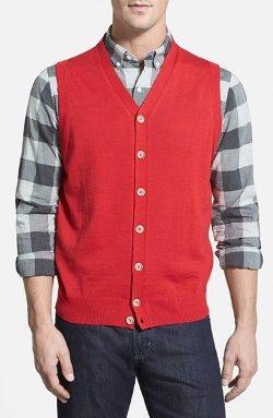 Thomas Dean - Merino Wool Sweater Vest